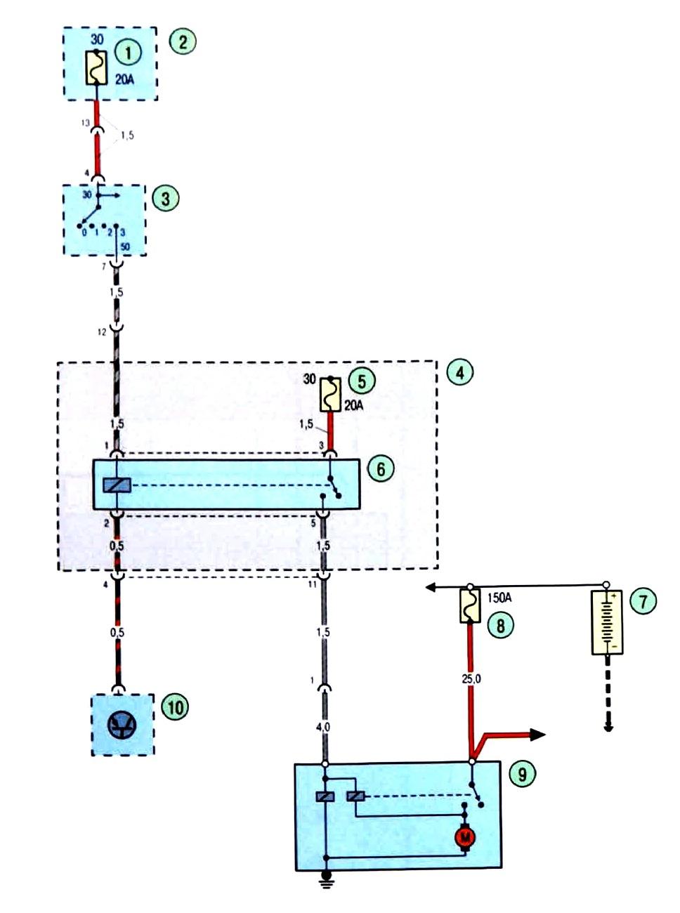 Схема блока предохранителей форд фокус 2 фото 765