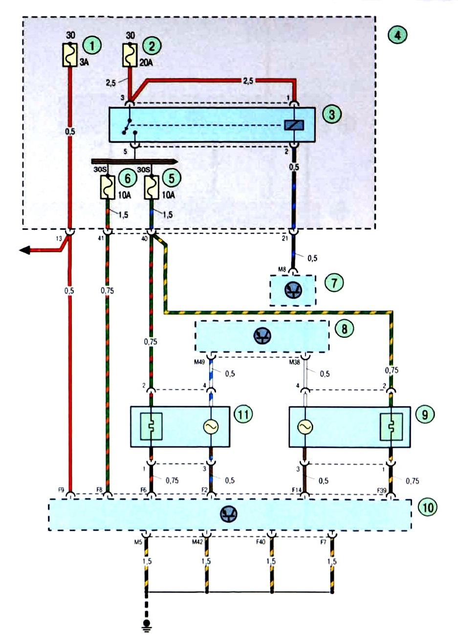 Схема блока предохранителей форд фокус 2 фото 496
