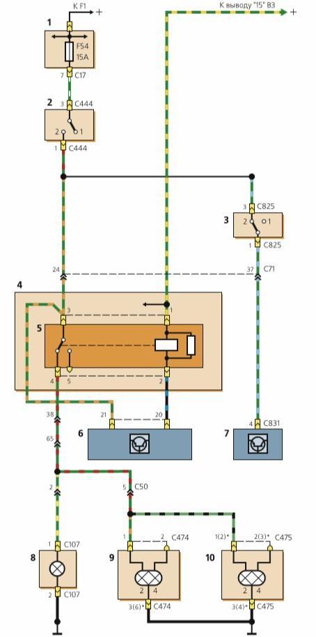 Схема тормозной системы форд фокус 2