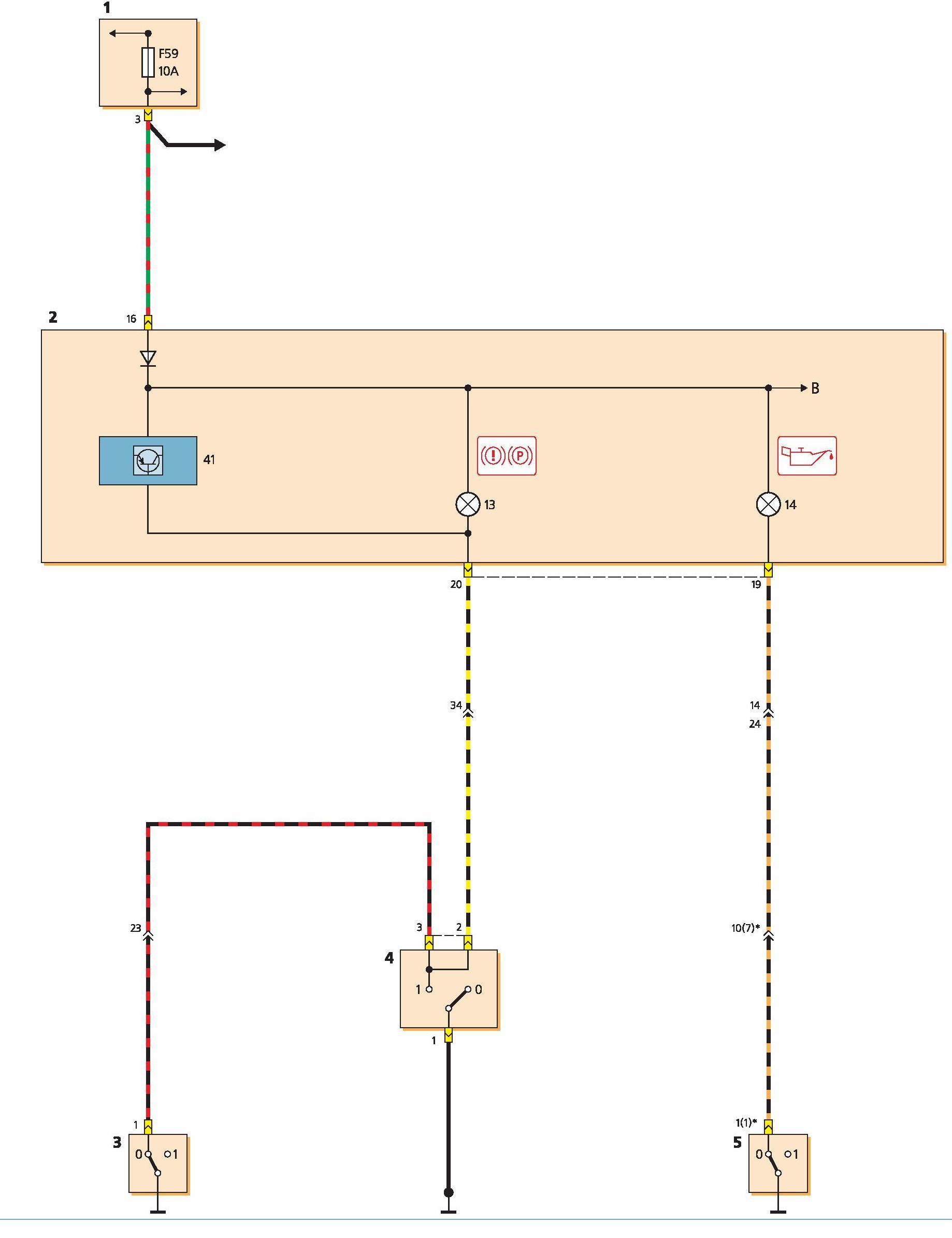 форд фокус 1 схема панели управления приборов