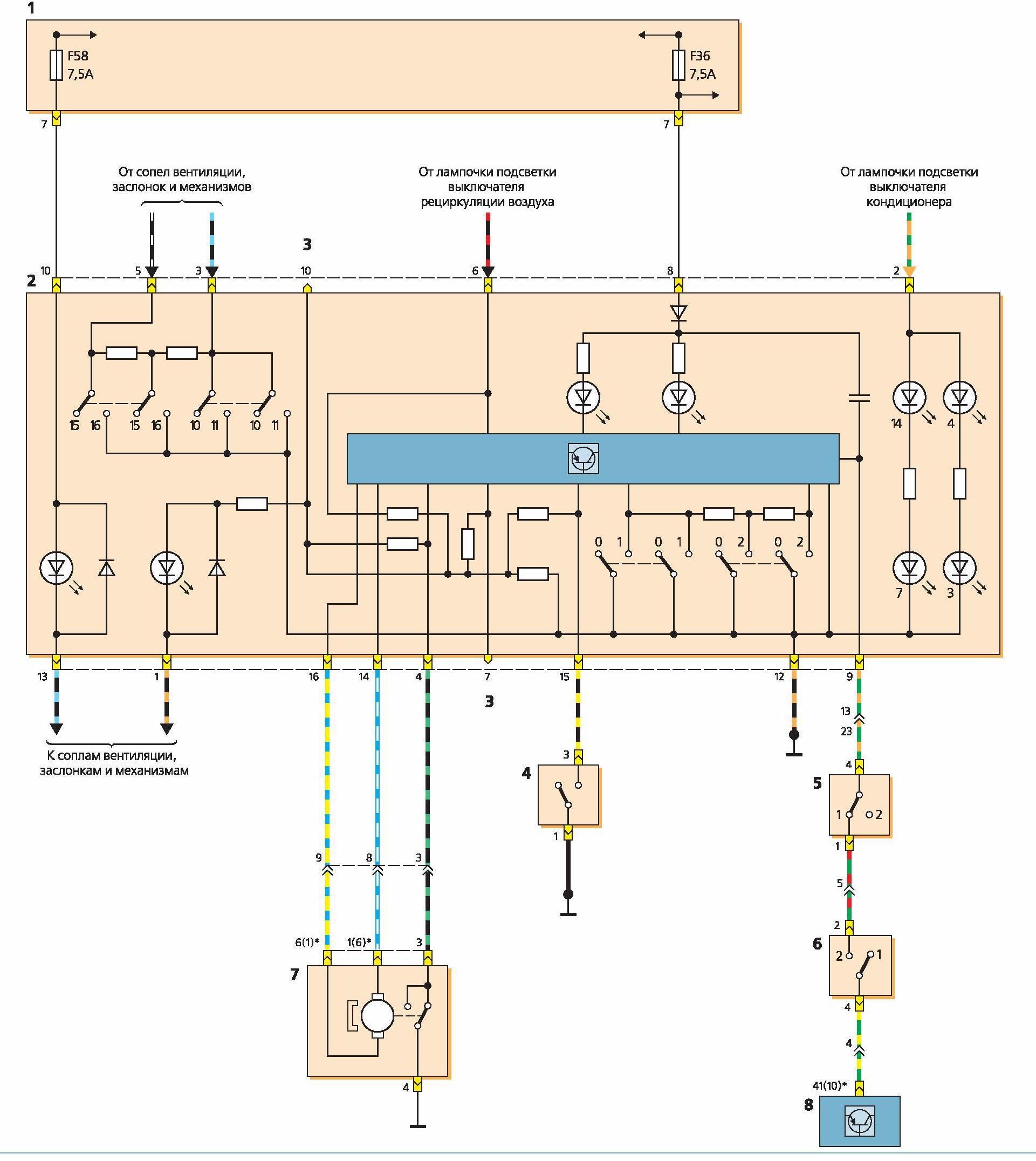 Схема форд фокус 1 zetec