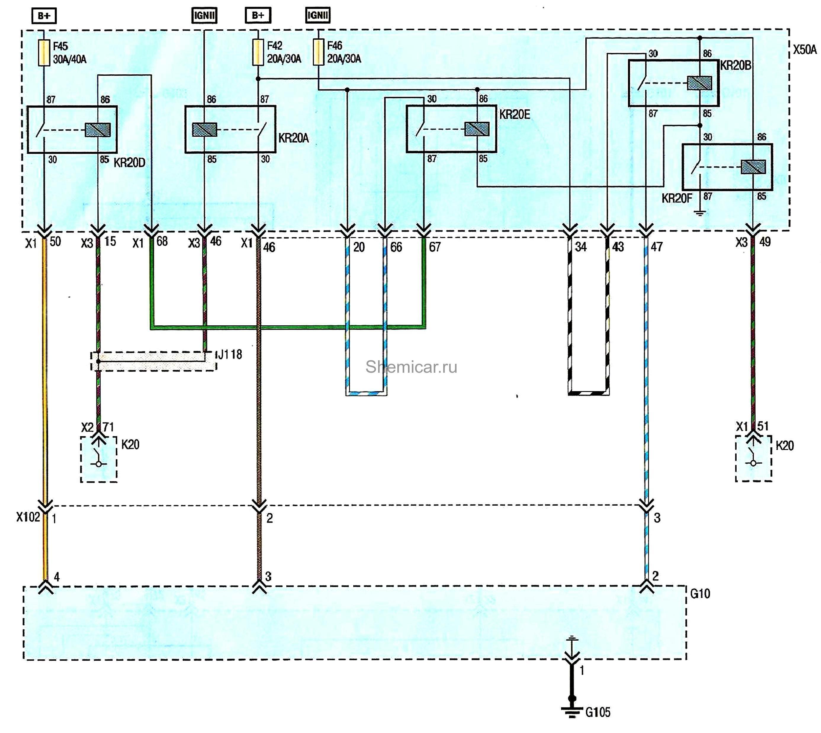 Схема топливной системы шевроле круз фото 8
