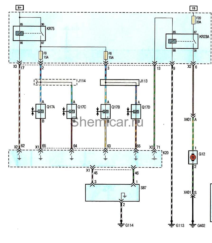 Аудиосистема лачетти схема