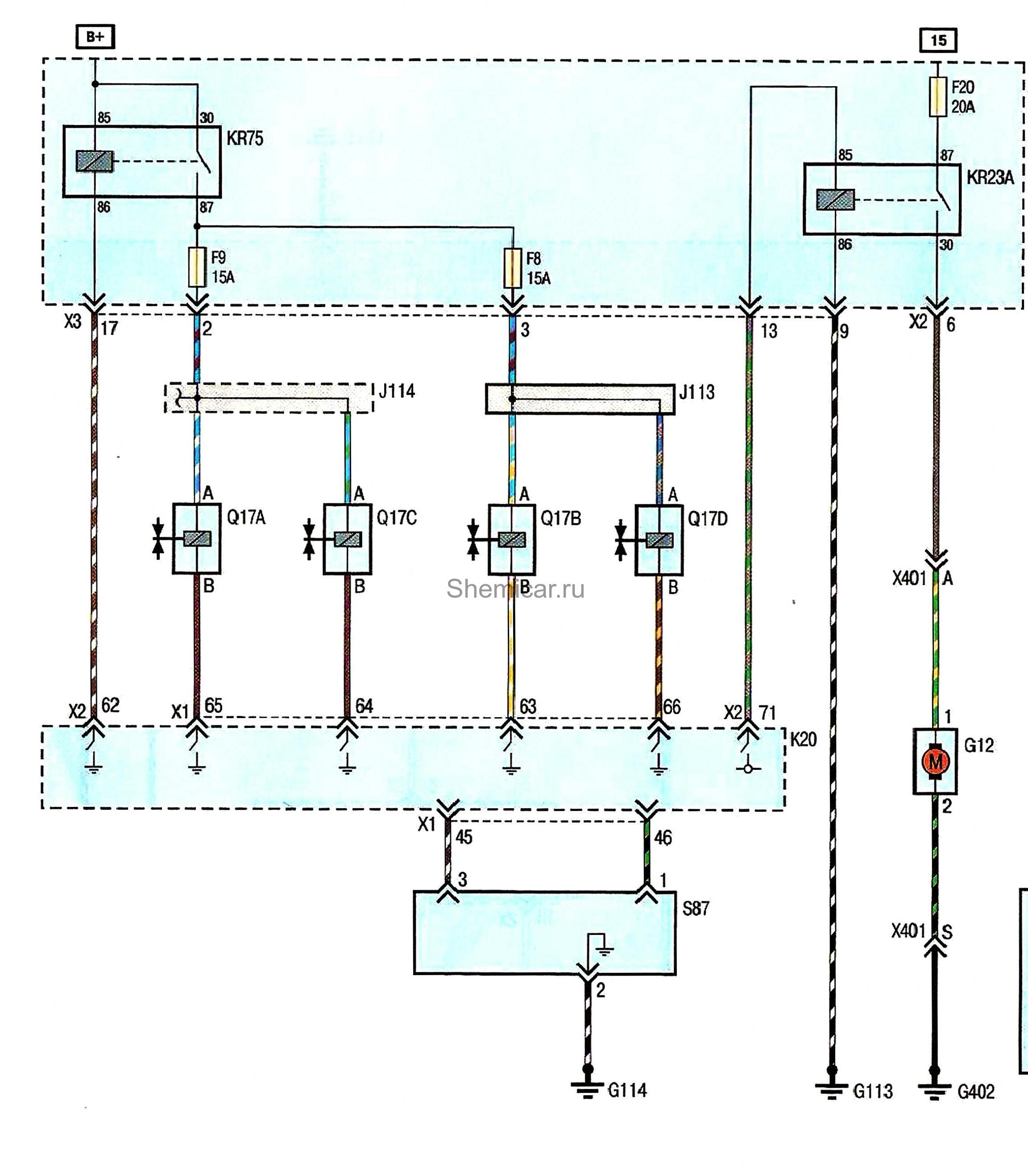 Схема топливной системы шевроле круз фото 217