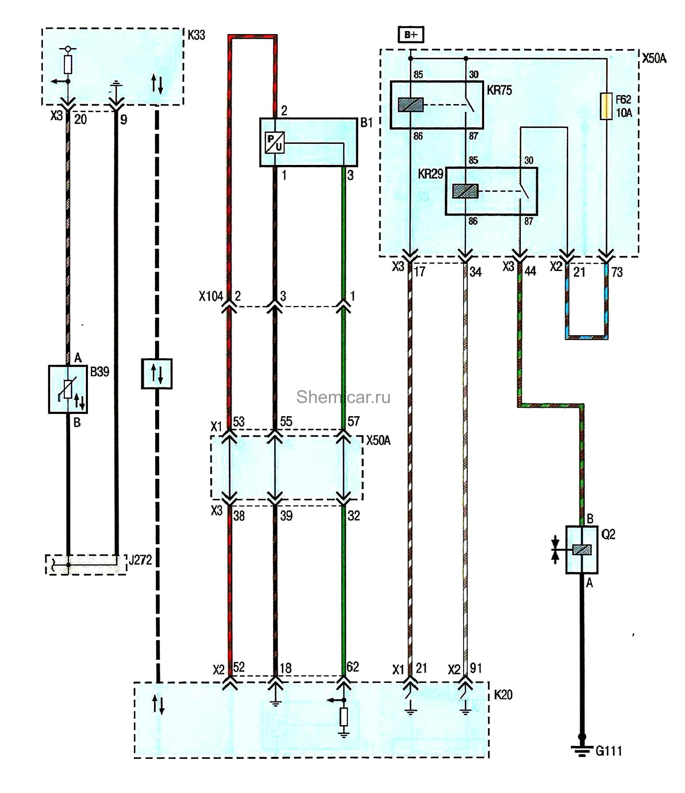 Схема топливной системы шевроле круз фото 834