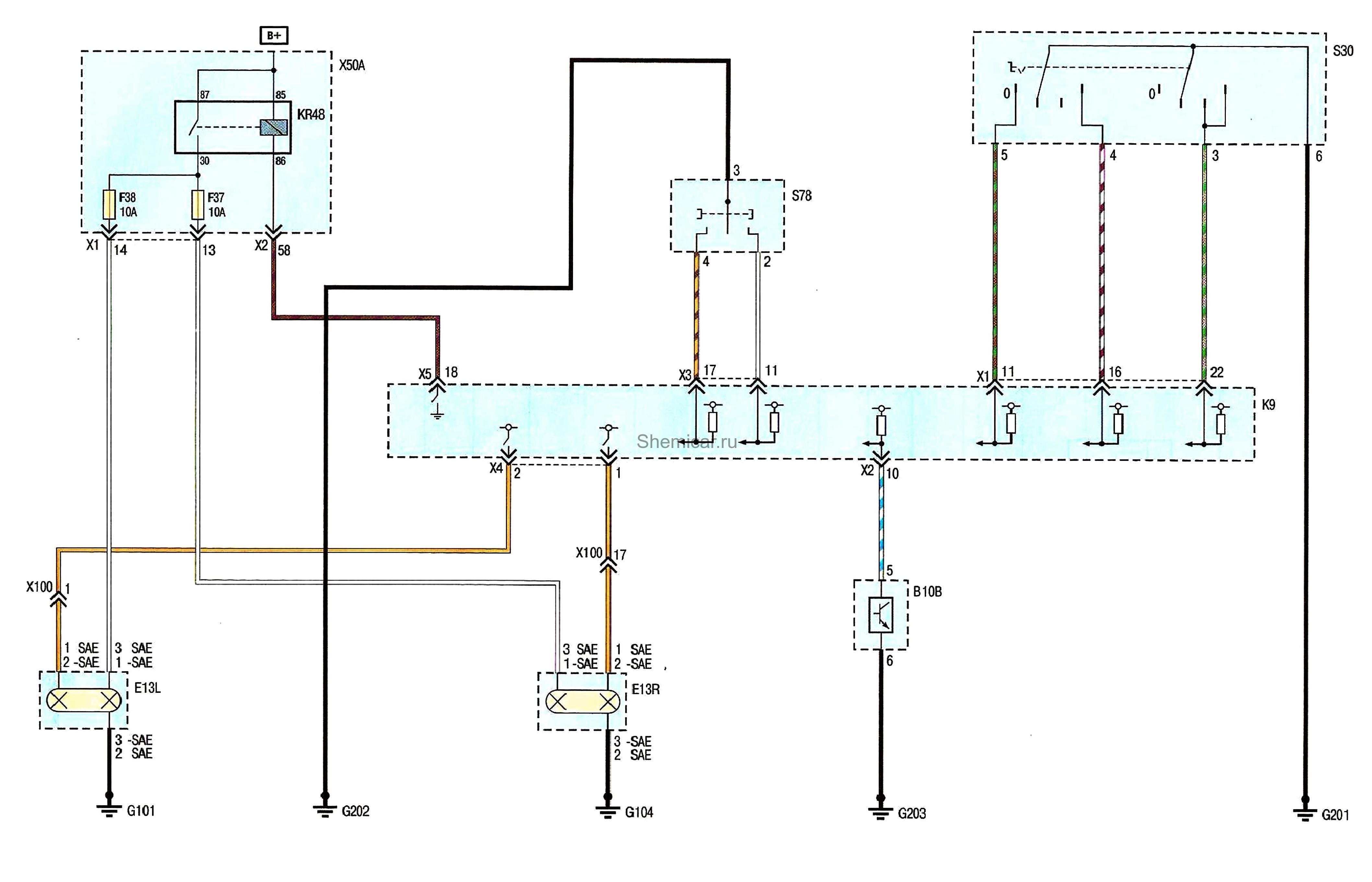 Электрическая схема стеклоподъемника шевроле круз