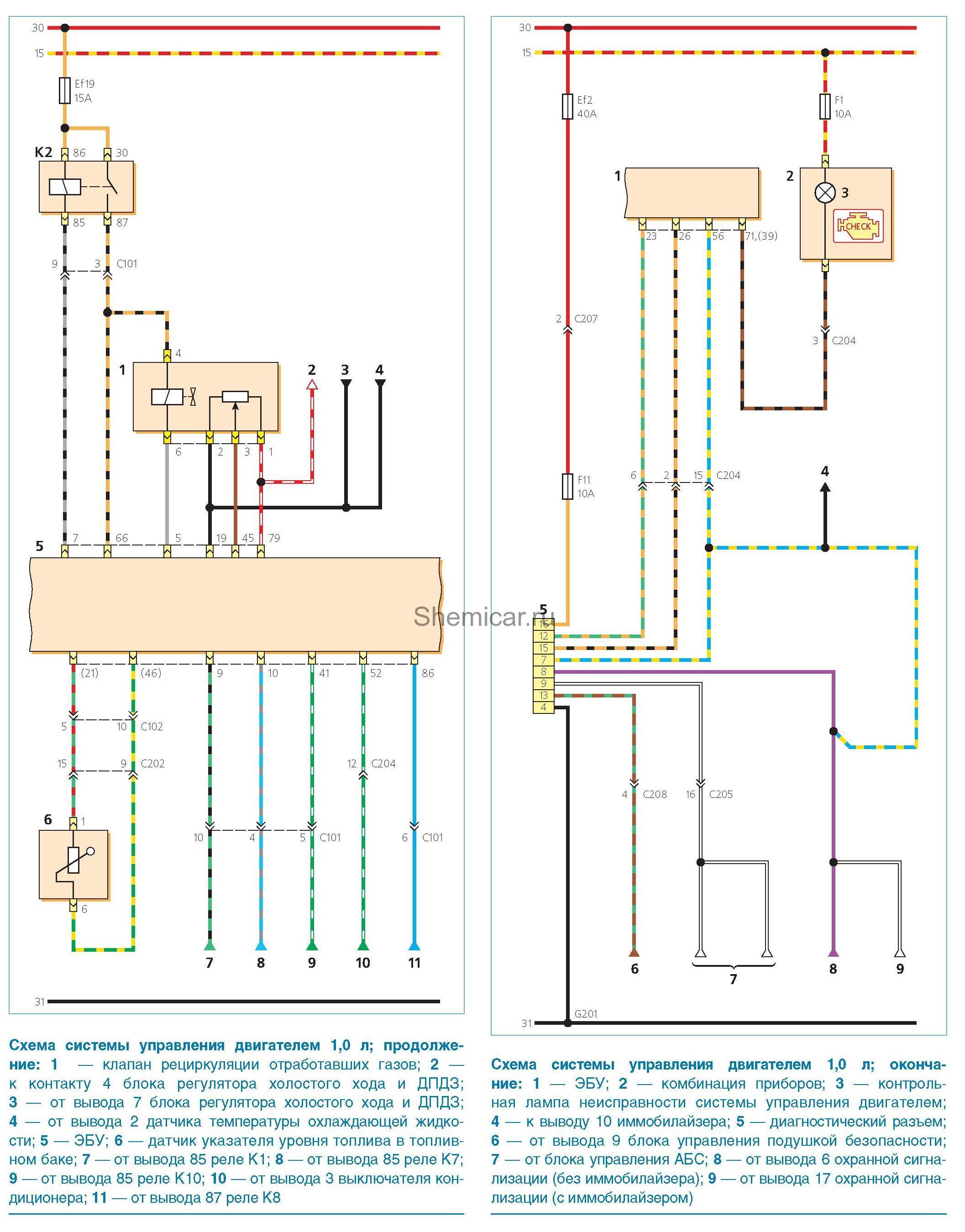 Схема бачка омывателя для матиз