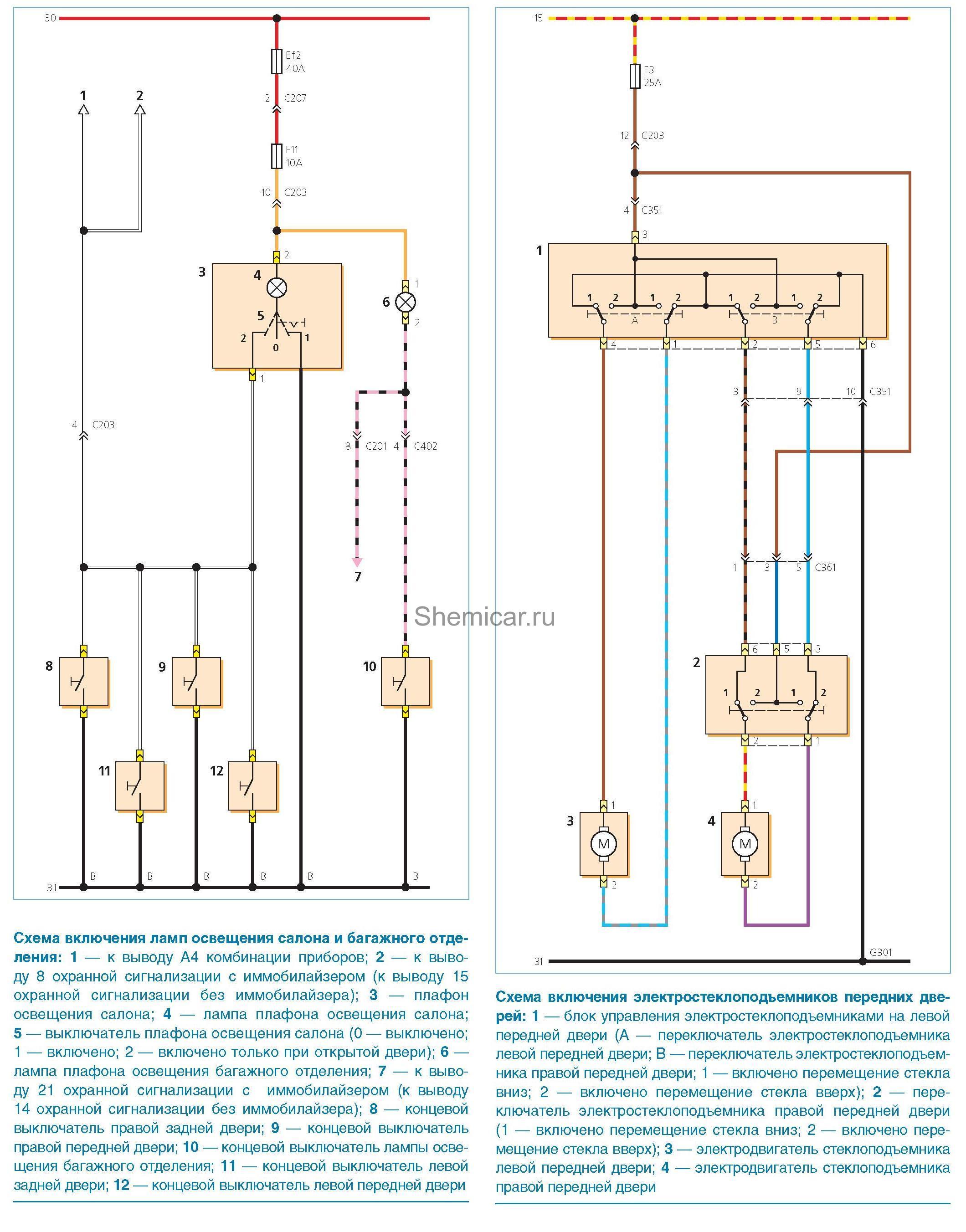 Блок схема концевого выключателя