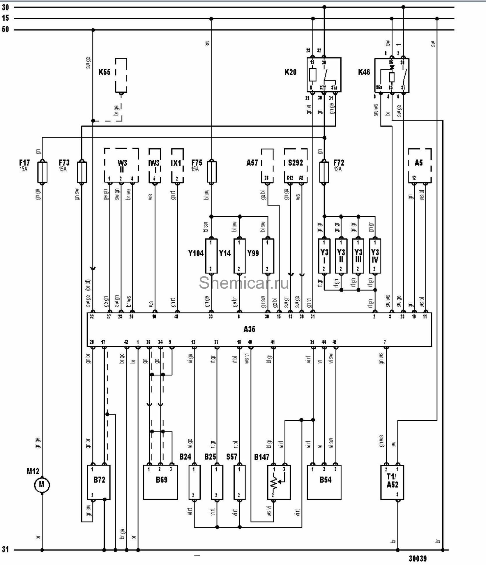 ситроен с4 электросхема системы зажигания